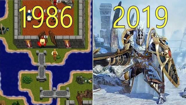 Así han evolucionado los gráficos en los MMO desde 1986