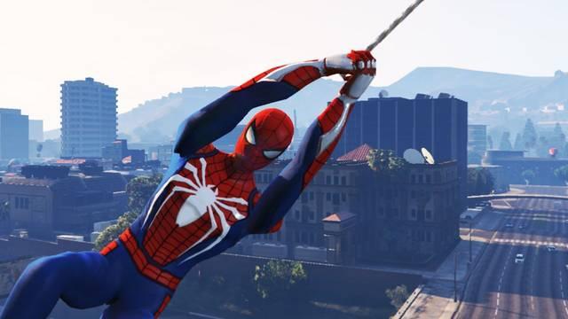 Spider-Man se desliza por las calles de Los Santos en este mod para GTA V