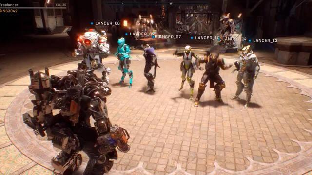 Anthem tiene un espacio social para 16 jugadores