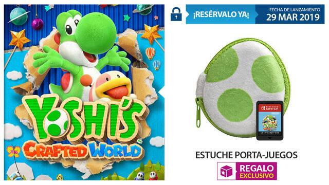 GAME detalla su incentivo por reserva para Yoshi's Crafted World