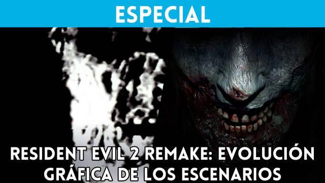 Resident Evil 2 Remake: Evolución gráfica de los escenarios