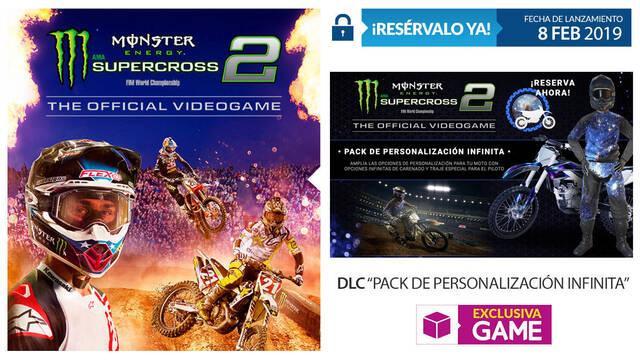 GAME anuncia sus incentivos por reserva para Monster Energy Supercross 2