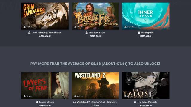 El nuevo Humble Bundle está dedicado a juegos indie de PS4
