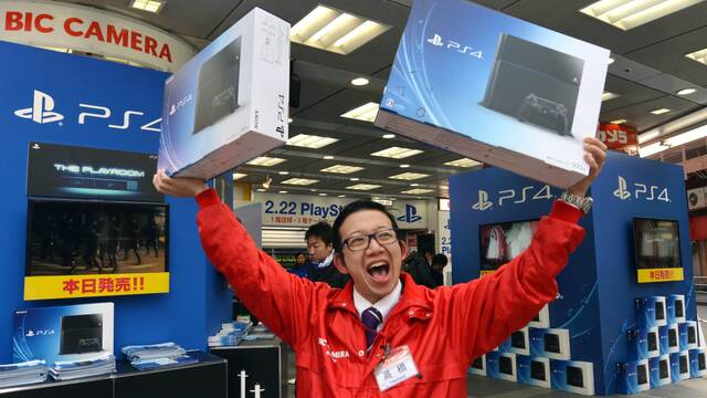 PS4 es la consola más vendida de la semana en Japón