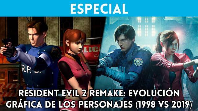 Resident Evil 2 Remake: Evolución gráfica de los personajes