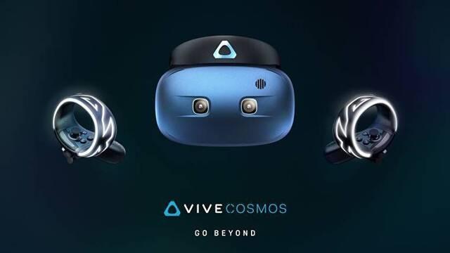 HTC anuncia un nuevo dispositivo de realidad virtual, Vive Cosmos