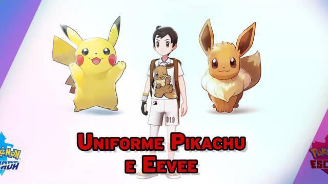 ¿Cómo conseguir el Uniforme de Pikachu e Eevee en Espada y Escudo?