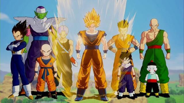 Personajes en Dragon Ball Z: Kakarot