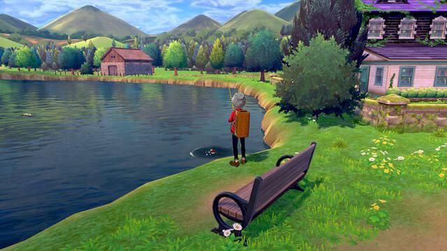 ¿Cómo se consigue la caña y se pesca correctamente en Pokémon Espada y Escudo?