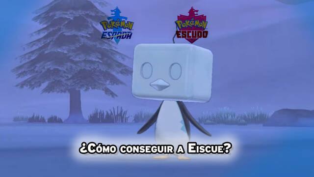 Dónde encontrar y capturar a Eiscue en Pokémon Espada y Escudo