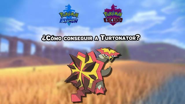 Dónde encontrar y capturar a Turtonator en Pokémon Espada y Escudo
