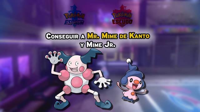 Cómo conseguir a Mr. Mime de Kanto y a Mime Jr. en Pokémon Espada y Escudo