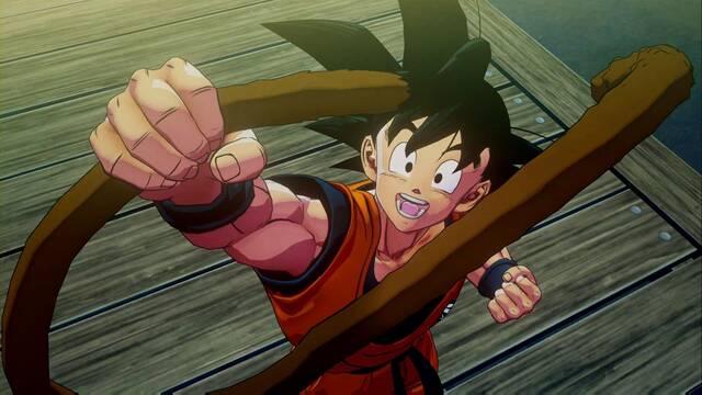 Cómo pescar en Dragon Ball Z: Kakarot