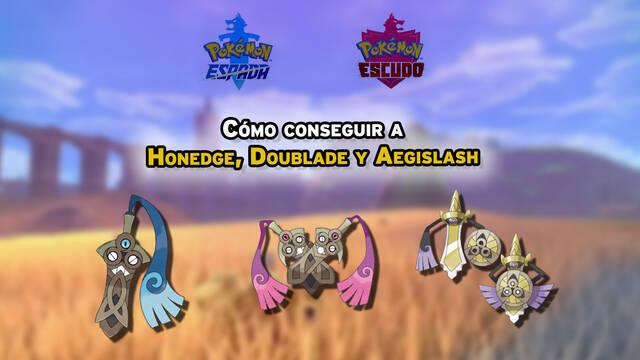 Cómo conseguir a Honedge, Doublade y Aegislash en Pokémon Espada y Escudo