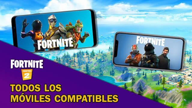 Fortnite Battle Royale: Listado de móviles compatibles (Android e iOS) en 2020