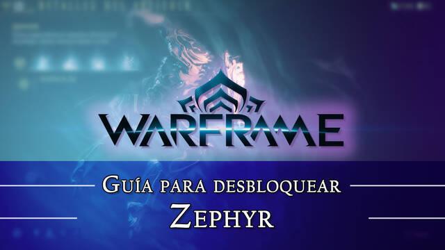 Warframe Zephyr: cómo conseguirlo, planos, requisitos y estadísticas
