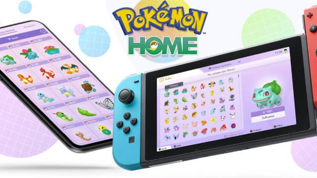 Pokémon Home ya está disponible para Nintendo Switch.