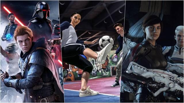 Electronic Arts 14 juegos nuevos