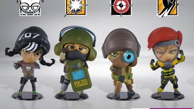 figuras de rainbow six en GAME