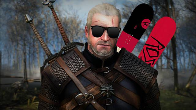 The Witcher 3 recibe un mod de snowboarding