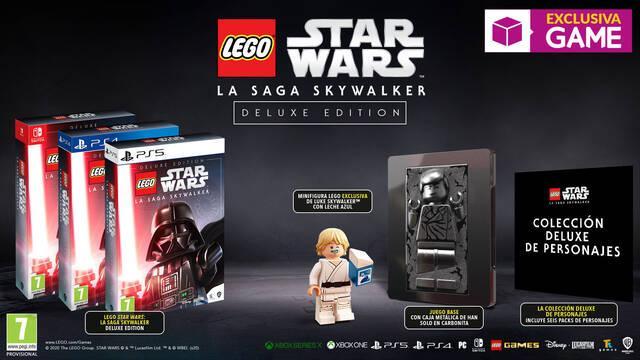 GAME presenta sus ediciones de LEGO Star Wars: La Saga Skywalker.