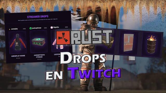 Rust: Cómo conseguir Drops de Twitch gratis por tiempo limitado