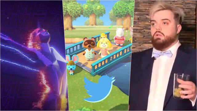 Twitter juegos streamer eventos más populares 2020 animal crossing ibai