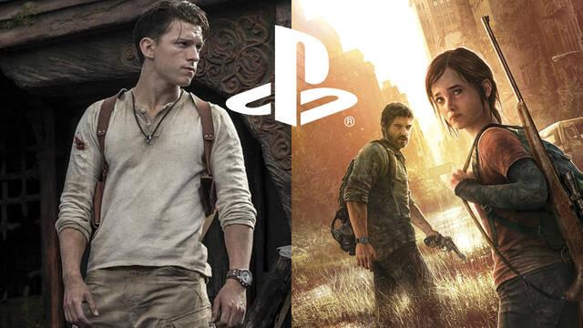 PlayStation películas series uncharted the last of us