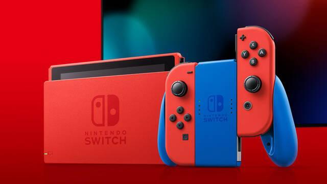 Switch tendrá una nueva edición con los colores de Mario a partir del 12 de febrero