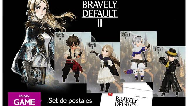 GAME ofrece postales de Bravely Default 2 por la reserva del juego