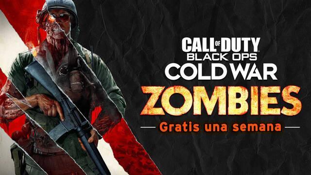 El modo Zombies de COD Black Ops Cold War será gratuito durante una semana