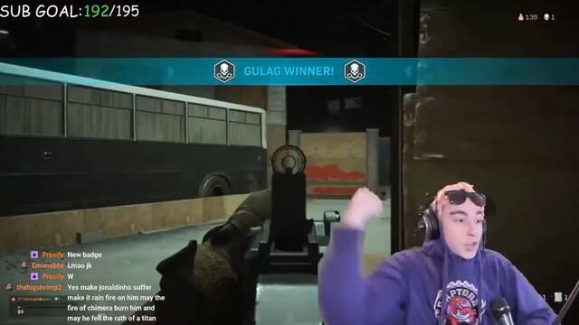 Un streamer gana el Gulag de Warzone con su flauta