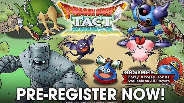 Dragon Quest Tact llegará a los dispositivos móviles de España el 27 de enero