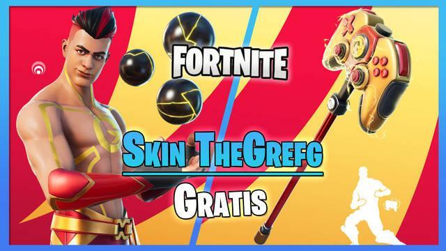 Fortnite: Consigue gratis la skin de TheGrefg en el torneo El suelo es lava