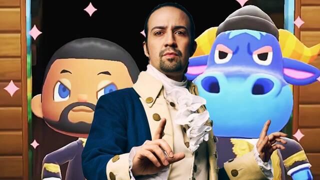 Recrean el musical de Hamilton en Animal Crossing: New Horizons