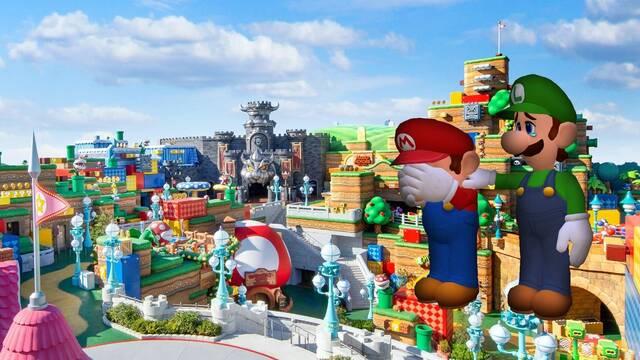 Super Nintendo World retrasa su inauguración