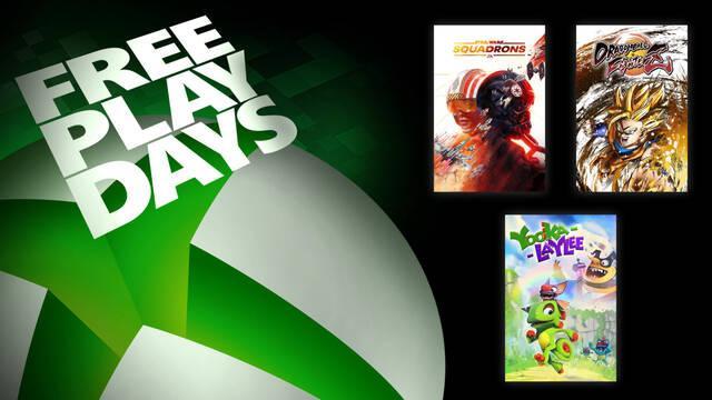 Free Play Days Star Wars Squadrons Dragon Ball