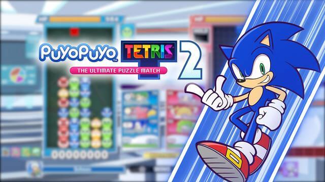 Sonic llega a Puyo Puyo Tetris 2 como un nuevo personaje jugable gratuito