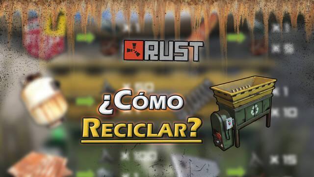 Rust: Cómo reciclar objetos y localizaciones del reciclador