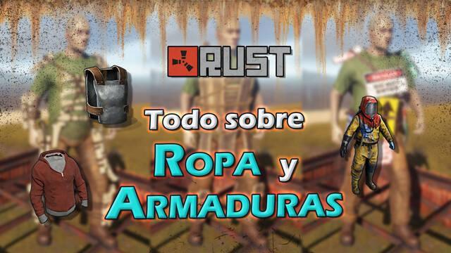 Rust: TODA la ropa, armaduras, trajes y cómo conseguirlos