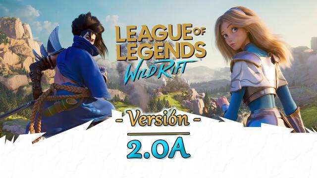 LoL Wild Rift v2.0a: Actualización de equilibrio para campeones