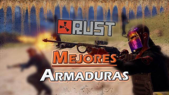 Rust: Cuáles son las mejores armaduras y sus combinaciones