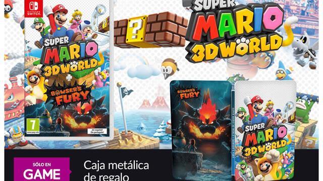 GAME anuncia las reservas de Super Mario 3D World + Bowser's Fury