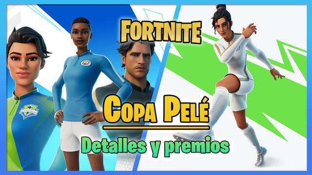 Fortnite - Copa Pelé: Fecha, horario y todos los premios gratis de skins y gesto