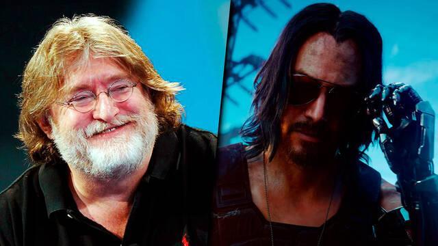 Gabe Newell sobre Cyberpunk 2077