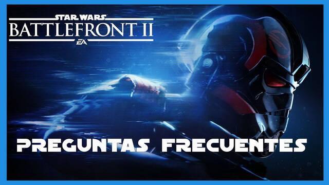 Preguntas frecuentes en Star Wars Battlefront 2