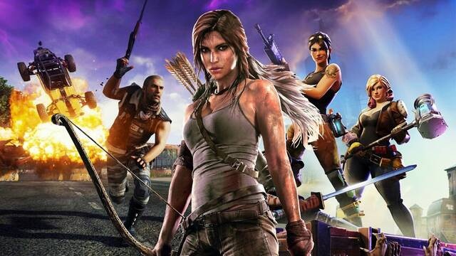 Lara Croft podría llegar a Fortnite Battle Royale