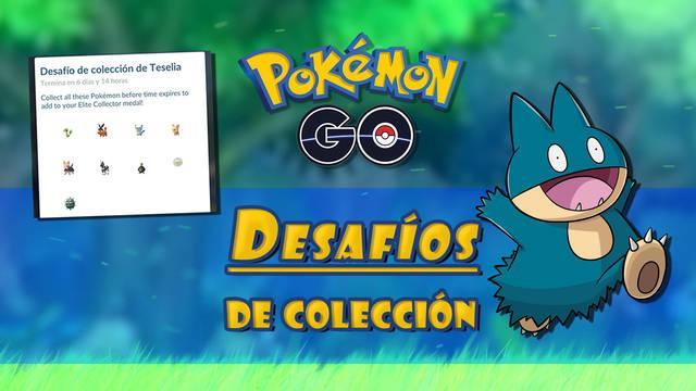 Desafíos de colección en Pokémon GO: Cómo completarlos y recompensas