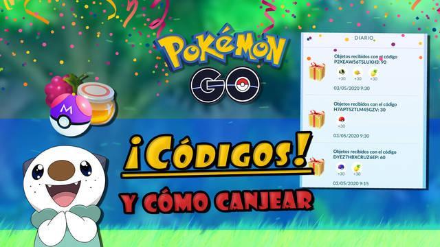 Pokémon GO: Todos los códigos promocionales y cómo canjearlos