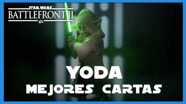 Yoda en Star Wars Battlefront 2: mejores cartas y consejos